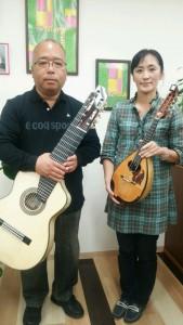 森清重さんと牧野麗子さん